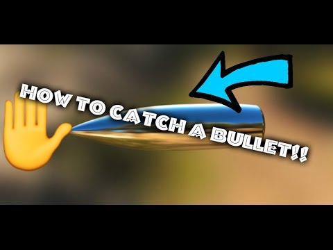 CATCHING A BULLET?!?!  |  I LEARNED HOW TO CATCH A BULLET!!!!