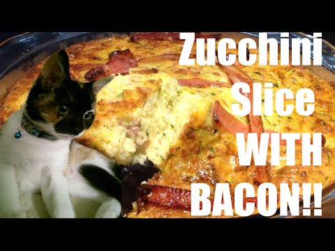 Zucchini Slice with Bacon | Cooking with Butters