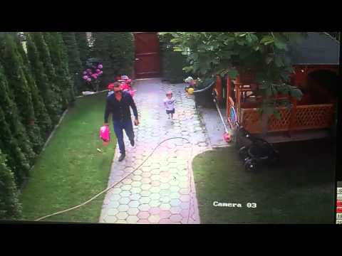 Hero Dad saves 2 year old daughter from dog attack.