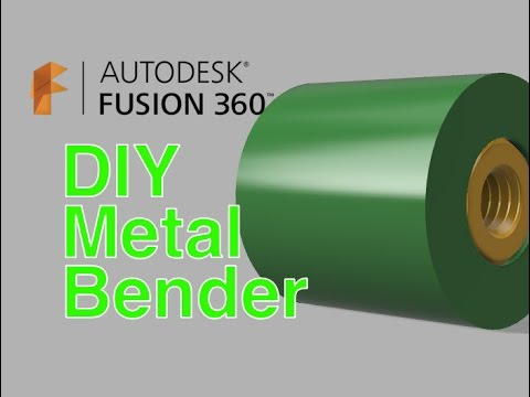 Fusion360 Step by Step Overview - Design Metal Rod Bender - Oxtoolco - DIY Metal Bender