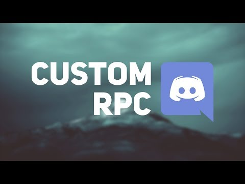 How to make a custom Rich Presence in Discord