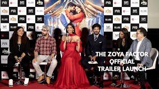 The Zoya Factor Official Trailer Launch | Complete Event | Sonam Kapoor, Dulquer Salmaan