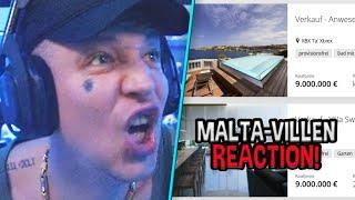 Reaktion auf VIEL ZU TEURE Traumhäuser auf MALTA 🤤 MontanaBlack Reaktion