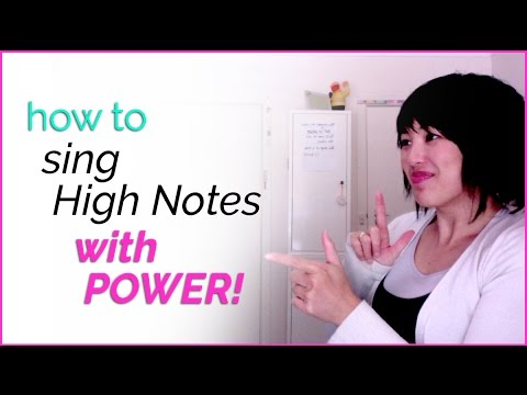 How to sing high notes with power! - Vocal Techniques