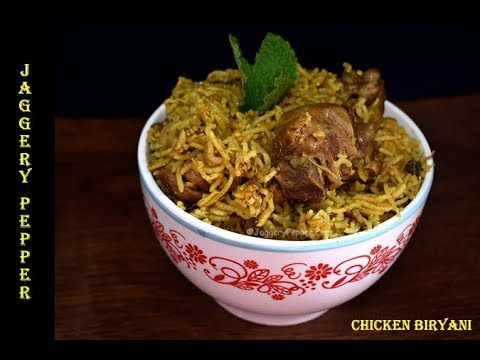 Easy Chicken Biryani Recipe in Pressure Cooker