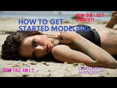 HOW TO GET STARTED MODELING! || Morgan Boyd