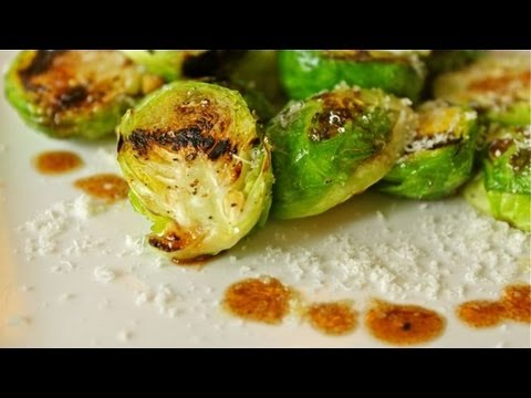 How to Make Grilled Brussels Sprouts - Cancer Fighting Appetizer Recipe