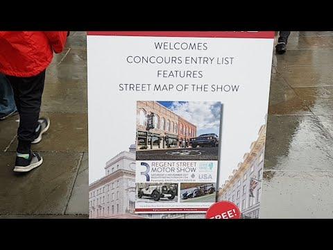 Regent Street London - MOTOR SHOW Live