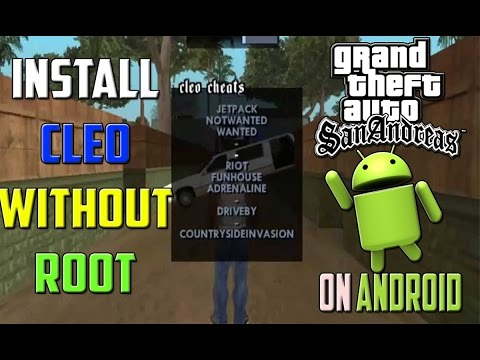 (Android)How to Install Cleo Mod on Gta sandress(without root) #2017 BE LIKE A PRO