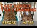 Victorian Tile Restoration - Victorian Tiled Hallway Floor in Hove & Brighton, East Sussex