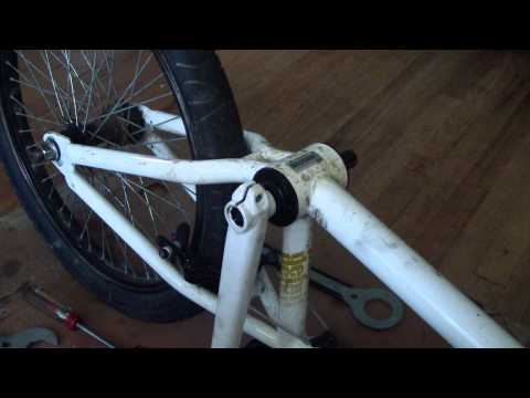 How To Install A 3 Piece Crank Set On A Bike With A 1 Piece Crank.