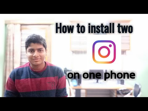 How to install two instagram in one phone without rooting the Device