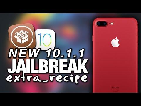 NEW iOS 10.1/10.1.1 JAILBREAK extra_recipe Released For iPhone 7 & iPhone 7 Plus