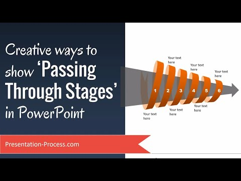 Creative Ways to Show Passing Through Stages in PowerPoint