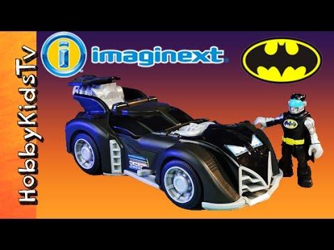 Imaginext Batman Batmobile and Robin Toy Review