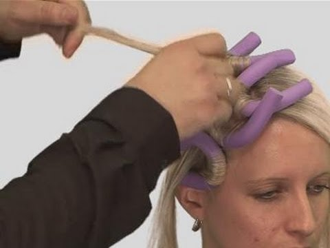 How To Use Foam Curlers
