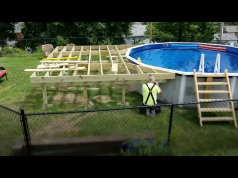 DIY: How To Build a Pool Deck