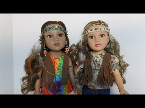 How to Make a Hippie Headband for Dolls