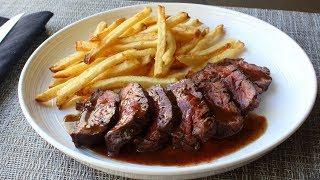butchers steak aka hanger steak how to trim and cook butchers steak