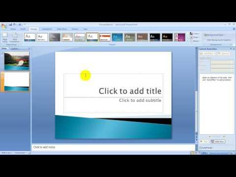 Storyboard Video Pembelajaran Ms. Power point 2007 Part 4