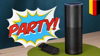 Amazon Alexa: Echo smart assistant somehow throws house party while owner is away - TomoNews