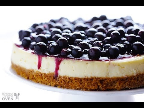 How to make a delicious blueberry cheesecake