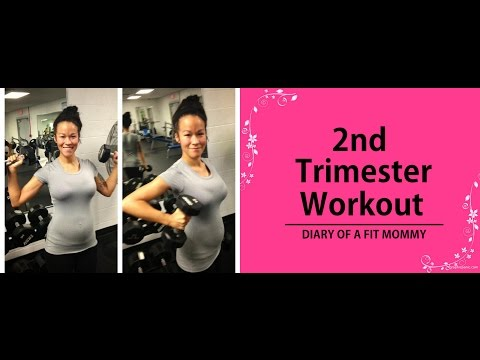 2ND TRIMESTER FIT PREGNANCY HOME WORKOUT