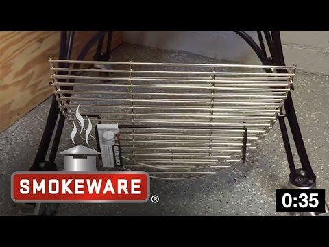 How To Install a Grate Rack on a Kamado Joe