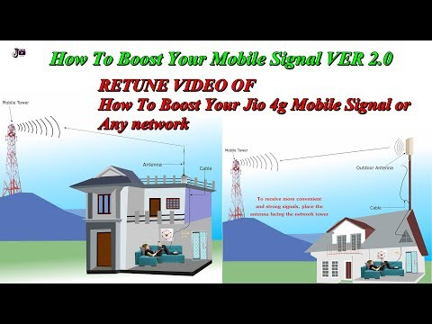 How To Boost Jio 4g Mobile Signal or Any network ver 2.0 NEW