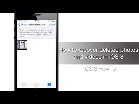How to recover deleted photos and videos in iOS 8 - iPhone Hacks