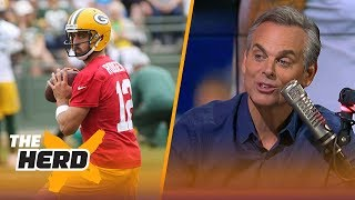 Colin Cowherd on Rodgers and his new leadership style, the Cowboys