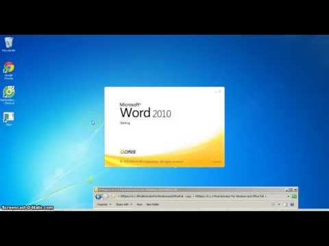 How to Install (COMO INSTALAR ) Microsoft Office 2010 and Activation Key 2015