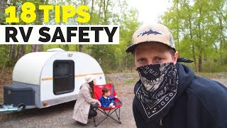18 RV Boondocking SAFETY Tips: Watch Before You RV Alone!