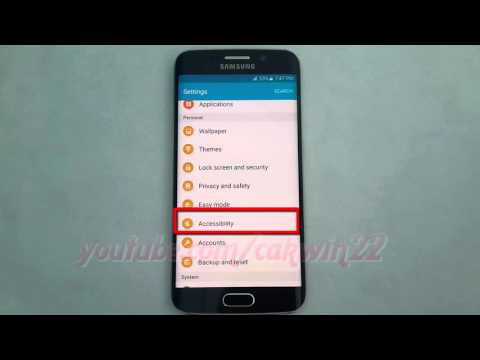 Android Lollipop : How to Enable or disable Answer or Reject Call by Voice Commands on Galaxy S6