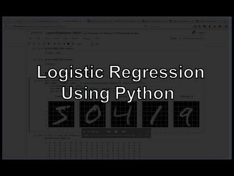 Logistic Regression using Python (Sklearn, NumPy, MNIST, Handwriting Recognition, Matplotlib)