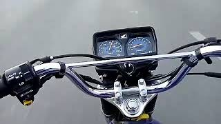 Top speed of Honda 125 model 2018