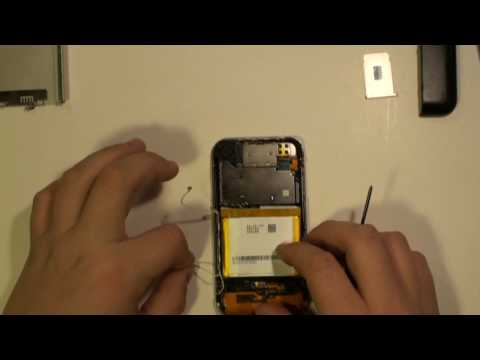 iPhone 2G LCD Glass Touch Screen Take Apart Repair Guide