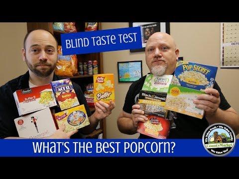 What's the Best Popcorn? Blind Taste Test
