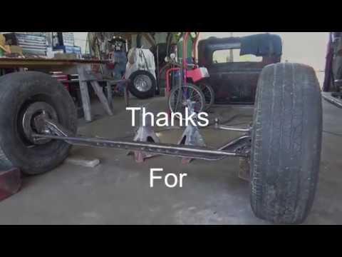 31 Chevy Rat Rod Build - Front Suspension Modifications