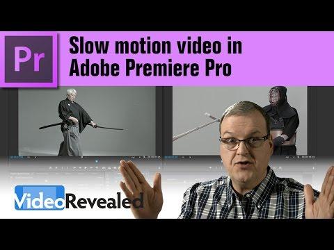 Slow motion video in Adobe Premiere Pro