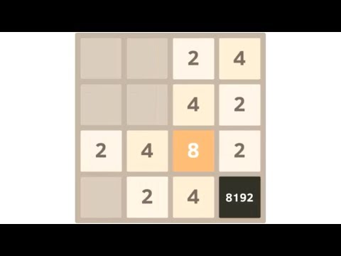 [2048] How to get 8192 + 2048 Tiles - Demo
