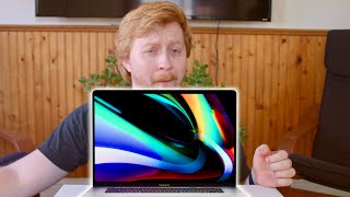 """Apple Sheep awkwardly sniffs 16"""" MacBook Pro while Unboxing it"""