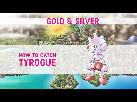 How to Find Tyrogue in Pokemon GOLD & SILVER & CRYSTAL
