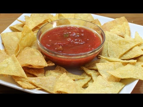 How to Make Homemade Tortilla Chips 2 Ways | Easy Tortilla Chips Recipe