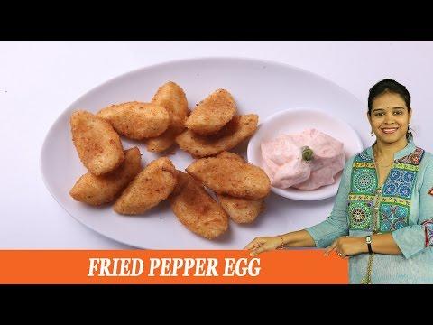 FRIED PEPPER EGG - Mrs Vahchef