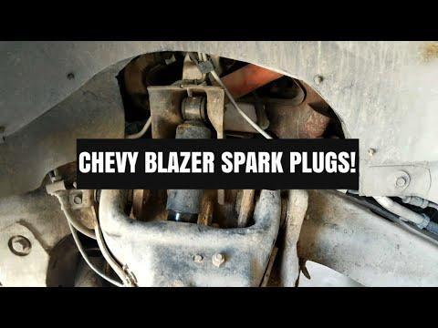 Chevy Blazer Spark Plug Replacement!
