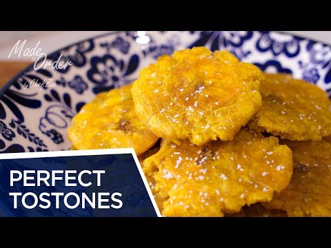 Perfect Tostones | Chef Zee Tips | Cooking Tips | Made To Order | A La Orden