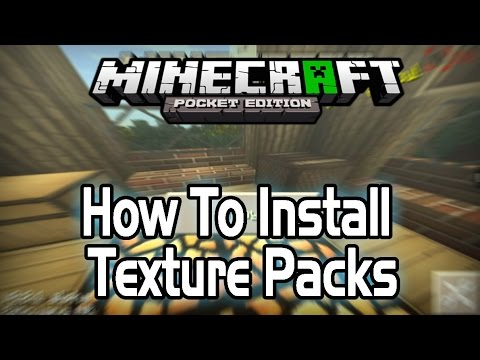 [0.9.2+] How To Install Texture Packs In Minecraft PE [Android] [Pocket Edition]