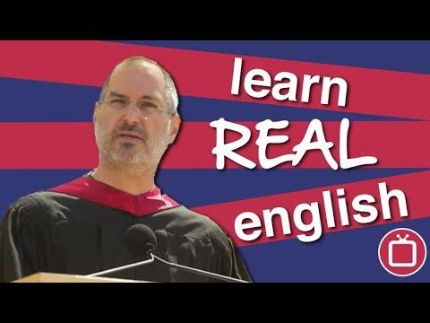 Learn Real English | Steve Jobs' Famous Speech