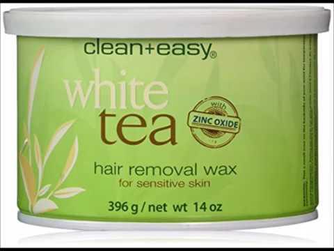 Clean + Easy Soft Wax White Tea with Zinc Oxide, 14 Ounce